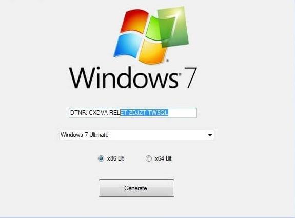 Windows 7 Activators Key